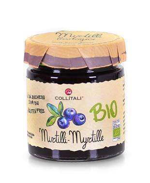 Bio- Blueberries Jam