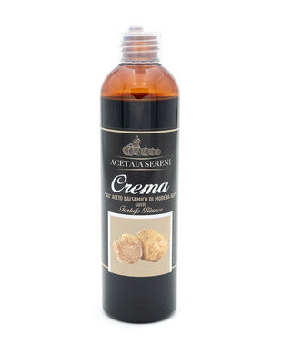 Modena IGP Balsamic Cream flavored with white truffle