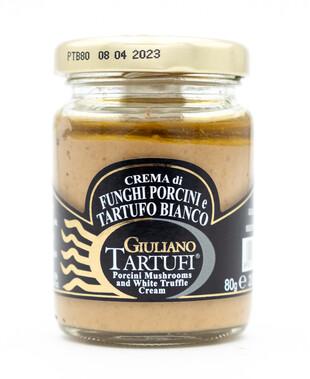 Porcini Mushrooms and White Truffle Cream