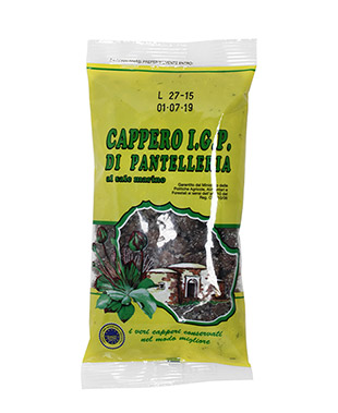 Pantelleria Caper with sea salt