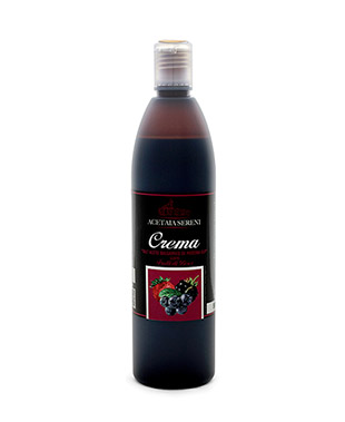 Modena IGP Balsamic Cream flavored with Berries