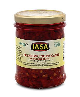 Italian Chili pepper in Olive oil