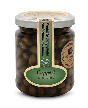 Capers in Olive oil