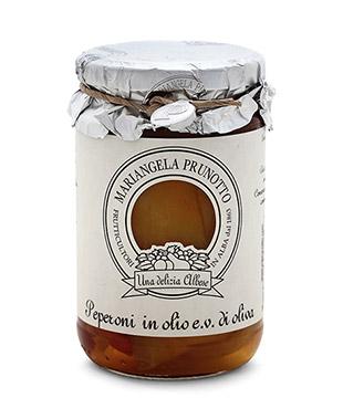 Peperoni in olio Extra Vergine di Oliva