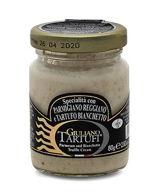 Parmesan and Bianchetto Truffle Cream