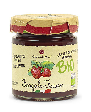 Bio- Strawberries Jam