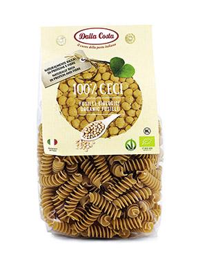 100% Bio chickpeas Fusilli