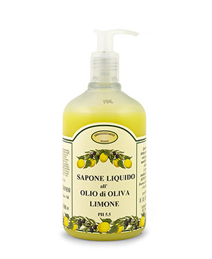 Lemon and Olive Oil Liquid Soap