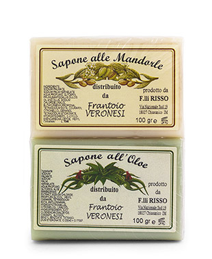 Bar of soap  2x100 g Mandorle  Aloe and Almond