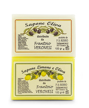 Bar of soap 2x100 g Lemon and Olive