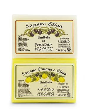 Seife 2x100 g Zitrone und Oliven