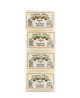Bar of soap  4x100 g Olive