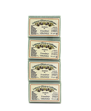 Bar of soap 4x100 g Olive and Lettuce