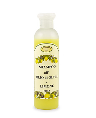 Olive Oil and Lemon Shampoo