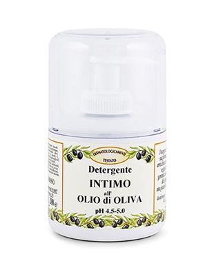 Detergente intimo all'olio di oliva